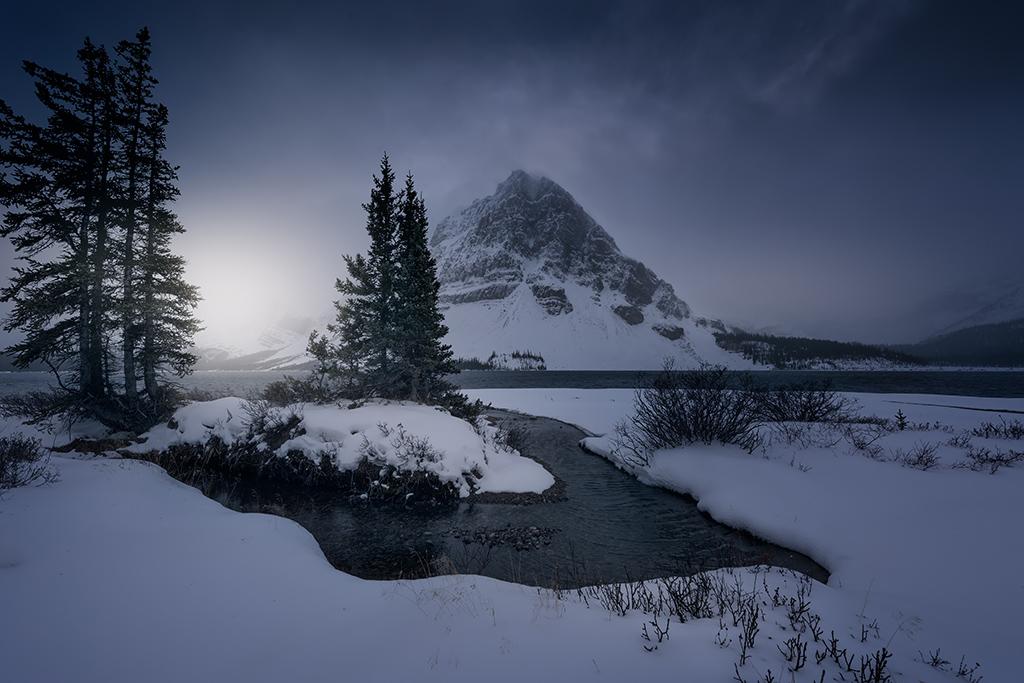 Bow Lake, Canadá