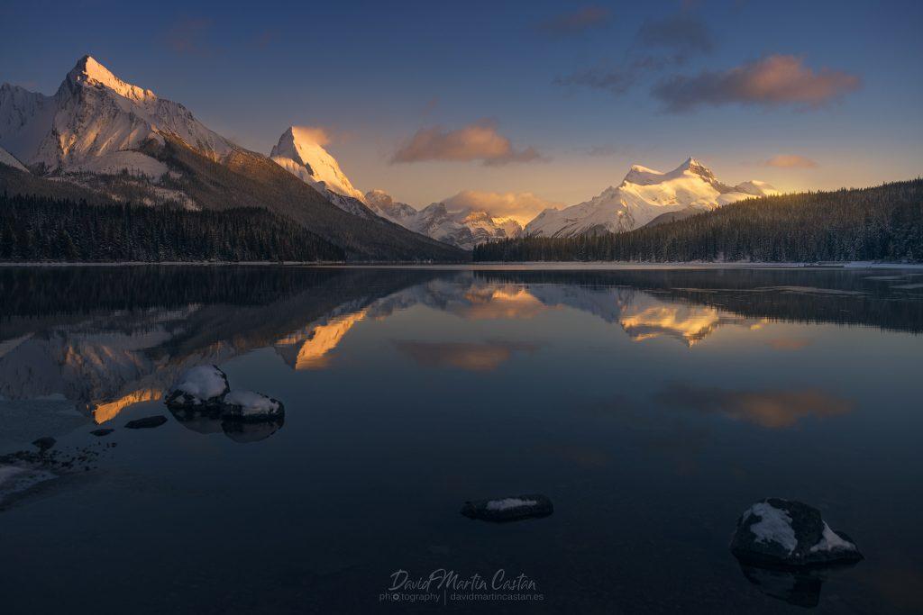 Maligne Lake, Canadá